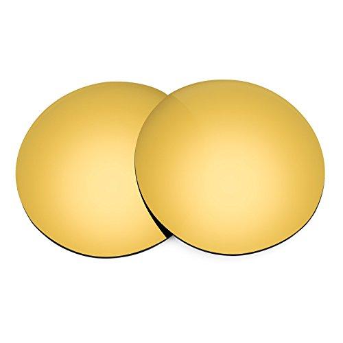 Revant Ersatzlinsen für Spy Optic Stratos II Polarisierung Elite Gold MirrorShield®