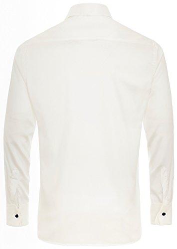 Eterna - Gala - Modern Fit - Festliches Herren Hemd mit Kent Kragen und verdeckter Knopfleiste (8217 X367) Champagner (20)