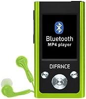 Difrnce mP 1811 bluetooth-lecteur audio/vidéo 4Go vert