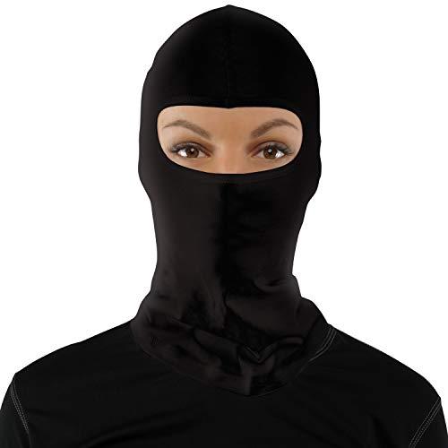 Starks MP0003.1 Pasamontañas para Moto para Verano Balaclava para Hombre para mujer, esqui, termico, invierno color Negro