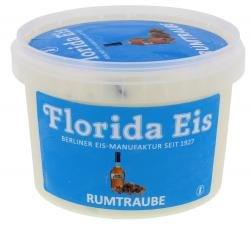 "Preisvergleich Produktbild Eiscreme ""Florida Eis"" Rumtraube - Familienpackung - 500ml"