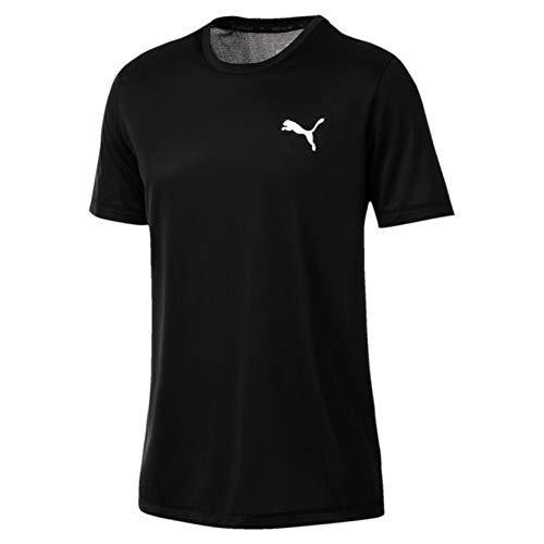 PUMA Herren Active Tee T-Shirt Black, L