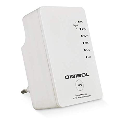 Digisol DG WR4801AC AC750 Dual Band Wireless Repeater  White