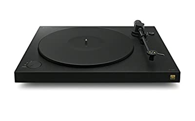 Sony PSHX500.CEK Turntable for Playing Vinyl and Recording in High-Resolution Audio Quality - Black(430x104x366mm (WHD))