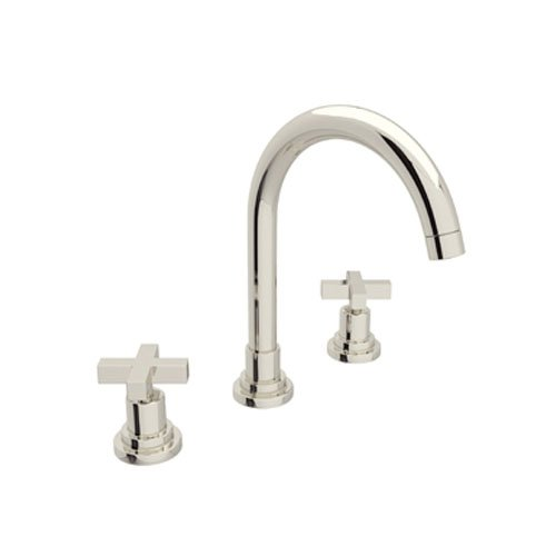 Rohl A2208X mpn-2nichel lucido Lombardia Lombardia bassa piombo lavabo rubinetto