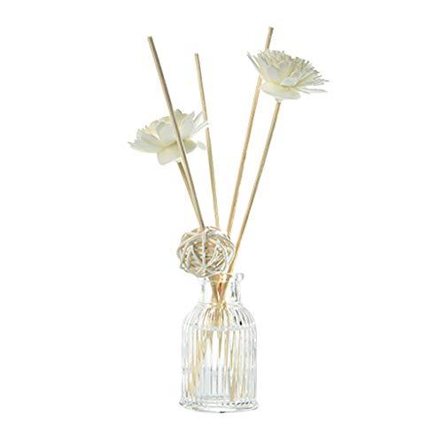 Webla-Reed Oil Diffusers mit Natural Sticks, Glasflasche und Duftöl 50ML