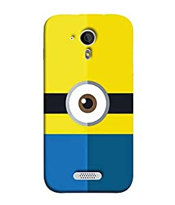 Fuson Designer Back Case Cover for Micromax Canvas HD A116 :: Micromax A116 Canvas HD (bait with your heart not your brain)