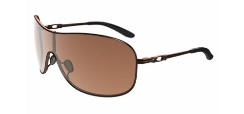 Oakley Damen Sonnenbrille Collected rosa Rose Gold VR 50 Brown Gradient