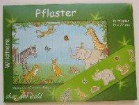 Kinderpflaster Wildtiere Briefchen 10 St