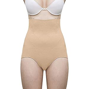 Fabme Women's Magic Wire No Rolling Down Tummy Tucker Shapewear (Free Size)