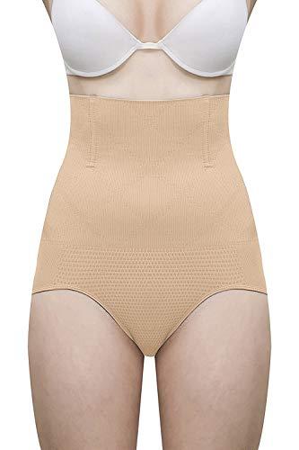 Fabme Women's Magic Wire No Rolling Down Tummy Tucker Shapewear (Free Size)
