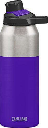 Camelbak Trinkflasche CHUTE Mag Vakuum Edelstahl isoliertechnologie Wasser Flasche, violett (rot), 32oz