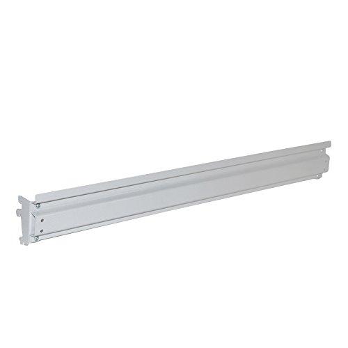 Treston 859156-49 Aufhängeleiste, Geeignet für Modul M1000, 50 kg Tragfähigkeit, 967 mm Breite x 100 mm Länge