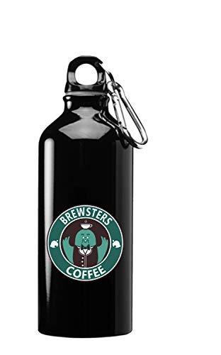 Hut Hai Vogel Monster Kaffee Taubenspiel Parodie Münze 3D Farbe Bedruckt 417 oz Edelstahl Wasserflasche, a