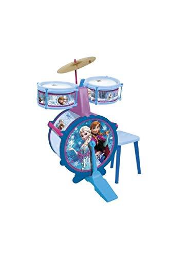 REIG- Frozen-Set di 3 Percussioni, Multicolore, 5389