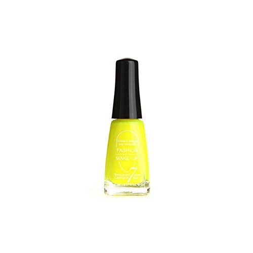 FASHION MAKE UP - Vernis à ongles SUMMER - Jaune Fluo - Fabrication Européenne