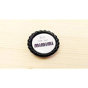 Handmade Magnet Kronkorken – Ich hör nur mimimi – auch als BUTTON oder SCHLÜSSELANHÄNGER erhältlich Kühlschrankmagnet…