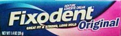 Fixodent Denture Adhesives Cream, Original 1.4 oz. (3-Pack) by
