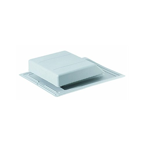 Vent Roof Slant Poly Gry by Air Vent Inc -