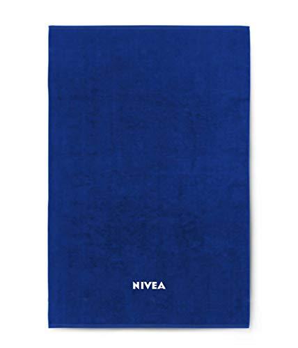 Nivea Badetuch Duschtuch Blau 100 x 180 cm
