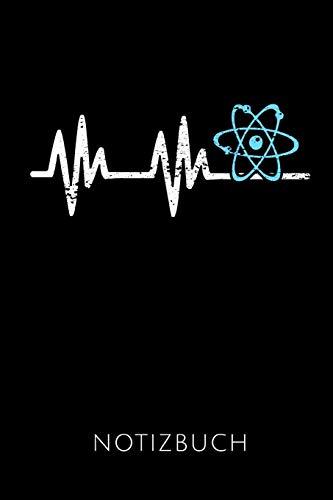 NOTIZBUCH: Schöne Geschenkidee für Physiker und Physiklehrer | Notizbuch Journal Tagebuch Skizzenbuch Schreibheft | 120 karierte Seiten | Format 6x9 DIN A5 | Soft cover matt | -