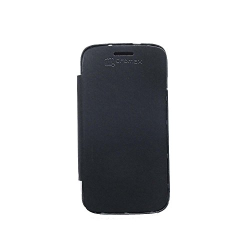 iCandy™ Flip Cover for Micromax Canvas HD A116 - Black  available at amazon for Rs.99
