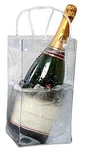 Ice bag 6 x Clear pour Bouteille Magnum - Sac Seau à glaçons