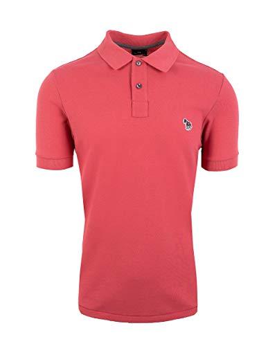 Paul Smith Poloshirt Zebra, Pink Gr. S, Rose