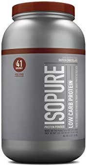 Isopure Low Carb Protein Powder, 100% Whey Protein Isolate, Gluten Free / Lactose Free, Keto Friendly, Flavor: