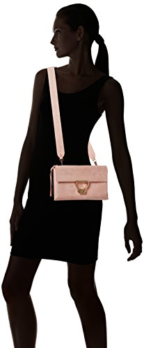 Arlettis Rose 1201 Suede Handtasche Coccinelle Hw4q7H