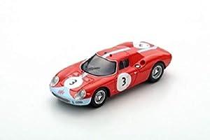 LOOK&SMART LookSmart LSRC25 - Coche en Miniatura de colección, Color Rojo y Azul