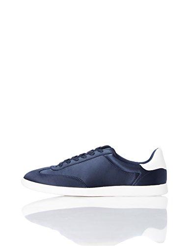 Find Zapatillas Deportivas Retro para Mujer, Azul (Navy), 35.5 EU