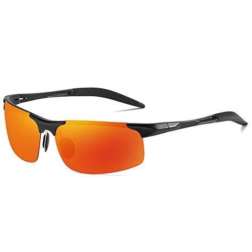 XTL Sonnenbrillen aus Aluminium-Magnesium-Halbrahmen mit polarisierten, explosionsgeschützten, farbenfrohen Sportlern, geeignet für Outdoor-Sportarten wie Radfahren im Freien