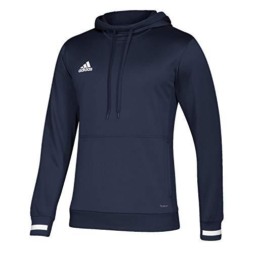 Team Pullover Hoody (adidas Kinder T19 Hoody Y Sweatshirt, Team Navy Blue/White, 13-14)