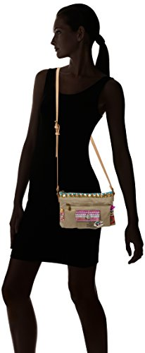 Desigual Bols Toulouse Military Deluxe Across Body Bag Umhängetasche 4027