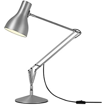 Anglepoise type 75 desk lamp brushed aluminium amazon lighting anglepoise type 75 desk lamp brushed aluminium greentooth Image collections