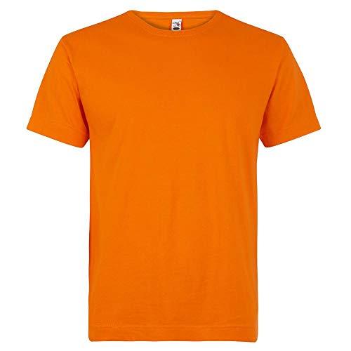 Logostar - Basic T-Shirt - Übergrößen bis 15XL / Orange, 8XL