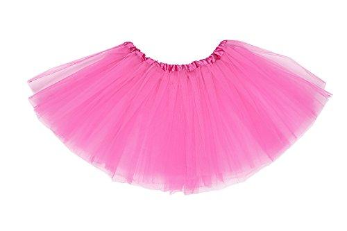 Ladies Petticoat Tutu Skirt 80S Dance Costume Fancy Dress - Many Colours - Size 8-16