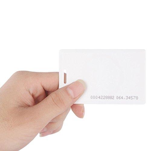 uhppote Kontaktlose 125KHz EM4100RFID Proximity ID Smart Eintrag Zugang Karte Stärke 1,8mm 50Stück