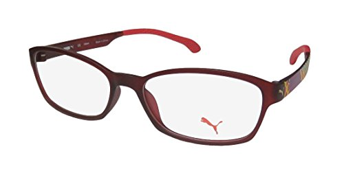 Puma 15439 For Ladies/Women Optimal TIGHT-FIT Designed for Active Lifestyles Eyeglasses/Eye Glasses