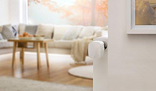 Elgato Eve Thermo - Heizkörperthermostat mit Apple HomeKit-Technologie, LED-Display, integriertes Touch-Bedienfeld, Automatische Temperatursteuerung, Keine Bridge erforderlich, Bluetooth Low Energy - Bild 4