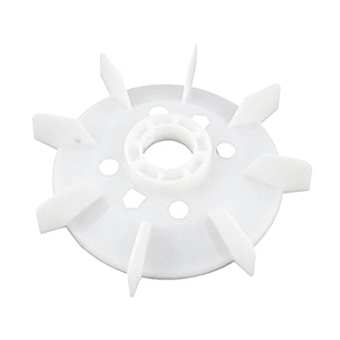 sourcingmap® Y180 Impeller Plastic Cooling Fan Vane for 18.5KW 22KW Motor