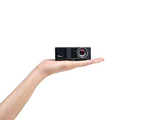 Optoma ML750e LED Kurzdistanz Projektor (WXGA, 700 LED Lumen, 15.000:1 Kontrast, 3D)