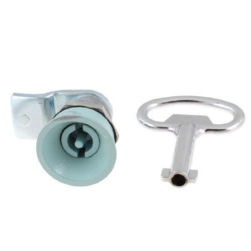 20mm Außengewinde Mailbox Schublade Schranktür Sicherheit Panel Lock w zylindrische Sockel Key