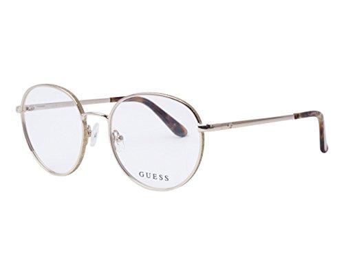 Guess Unisex-Erwachsene GU2669 032 50 Brillengestelle, Gold (ORO) - Brille Frames Guess