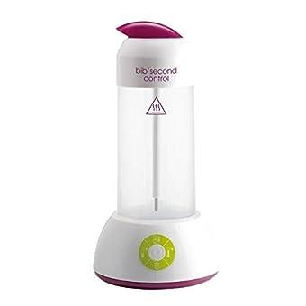 BÉABA Bib'Second Control (chauffe biberons/pots vapeur,stérilisateur), gipsy