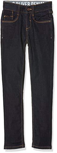 s.Oliver Jungen Jeans 62.809.71.3248, Blau (Blue Denim Stretch 59z8), 134 (Herstellergröße: 134/REG)