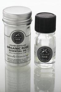 Organic Rose Essential Oil - Otto (Rosa damascena) (1ml) by NHR Organic...