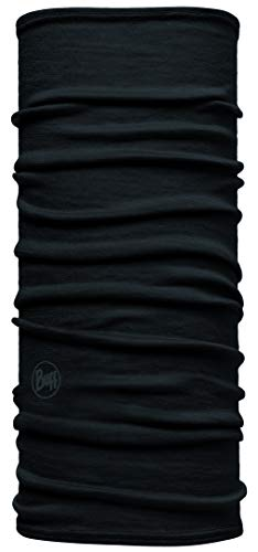 Buff Kinder Multifunktionstuch Junior Merino, Schwarz, One Size, 104779.00
