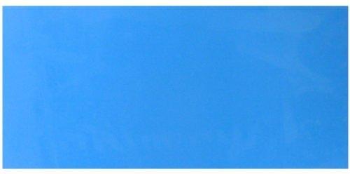 Wachsplatte lichtblau 20x10 cm - 9732 - Wachsplatte 200x100 für Kerzen